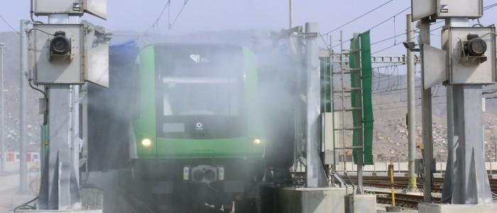 Lavado trenes