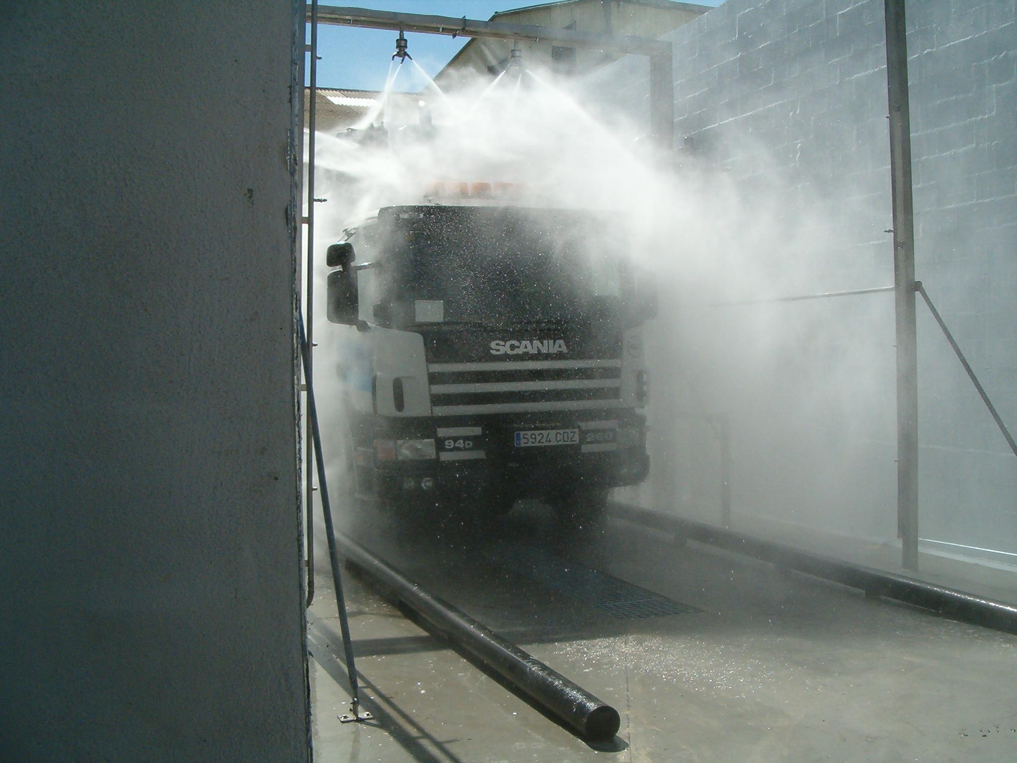 Lavado camiones