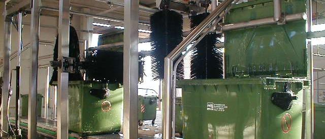 Lavado contenedores RSU